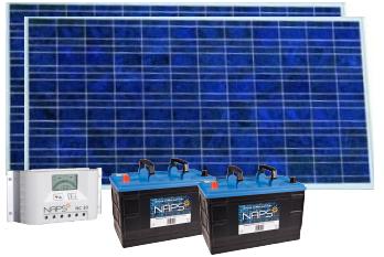 Комплект электроснабжения 200 Вт