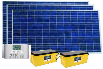 Солнечный комплект Naps 300W