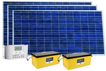 Система электроснабжения 0,3 кВт