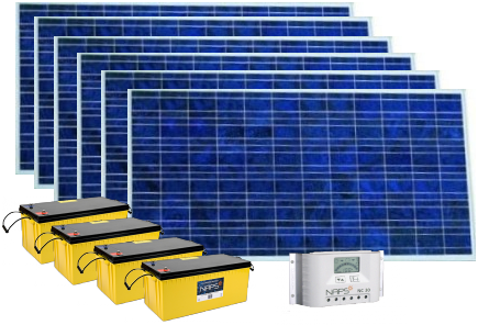 Солнечный комплект Naps 400W