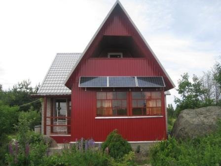 автономный дом под Выборгом