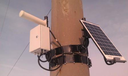 Базовая станция системы контроля бесстыкового пути СКБП-2009