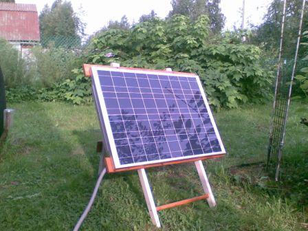 Солнечная энергия в помощь дачникам и владельцам домов за городом